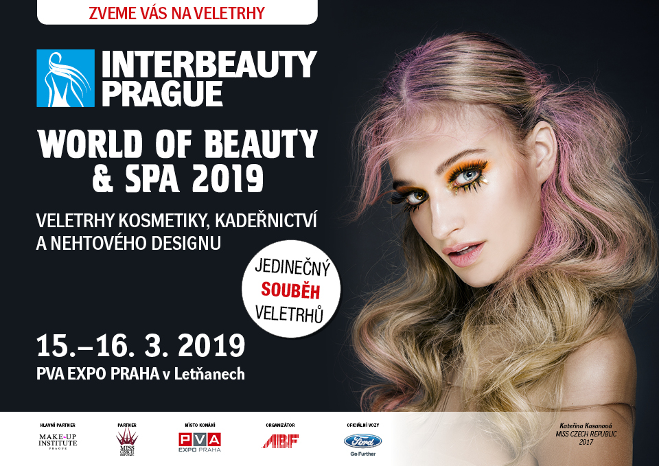 Výlet do světa krásy s INTERBEAUTY PRAGUE a WORLD OF BEAUTY & SPA